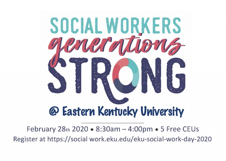 Save the date. Celebrate Social Work Month with 5 free CEUs! Friday, February 28