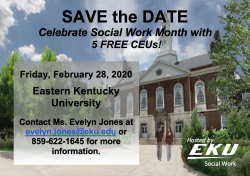 A picture of the Keen Johnson Building at Eastern Kentucky University.
